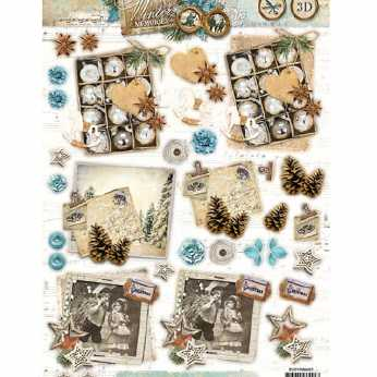 Shabby Chic Winter Christmas 431
