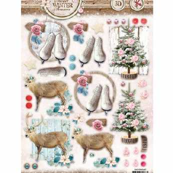 Shabby Chic Winter Christmas 432