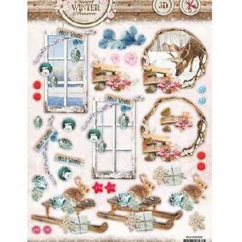 Shabby Chic Winter Christmas 433