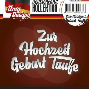 Amy Design Stanze Zur Konfirmation