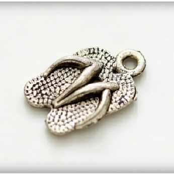 Metall Charms Flip Flop