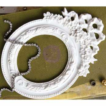 Prima Shabby Chic Resin Baroque Frame
