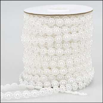 Pearl Strings Pearl Flower white