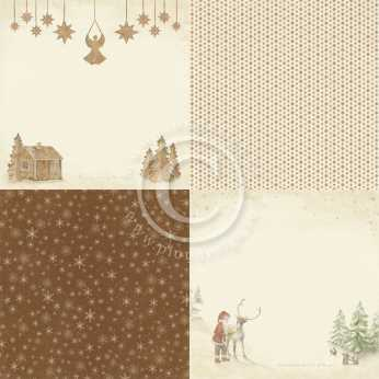 Scrapbookingpapier Winter Dream 05