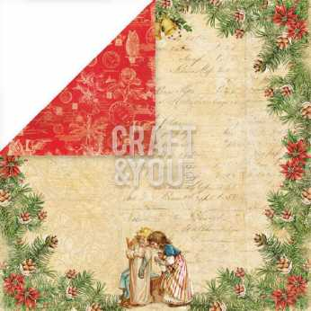 "Pion Design 12x12"" Waiting for Santa II,"
