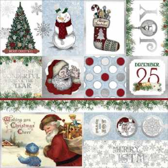 "Pion Design 6x6"" Christmas Whishes,"
