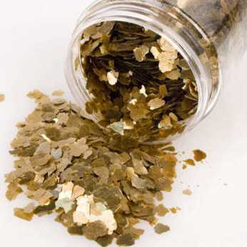 Stampendous gilded Mica fragments