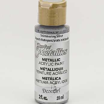 Dazzling Metallic Acrylic Paint Bronze