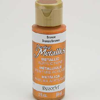 Dazzling Metallic Acrylic Paint Crystal Green