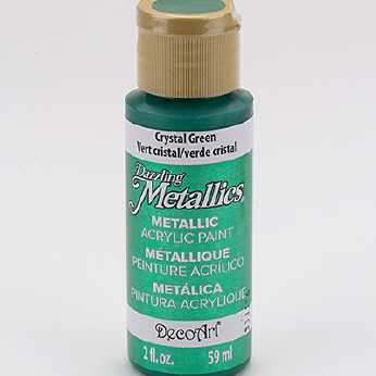 Dazzling Metallic Acrylic Paint Black Pearl