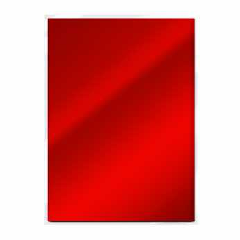 Tonic Mirror Card Scarlet Organza - Satin Effect