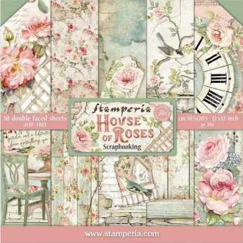 Stamperia Paper Pad Patchwork