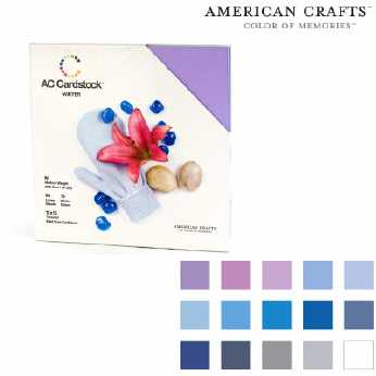 American Crafts Cardstock pack winter