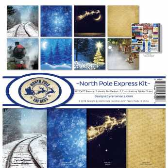 Reminisce Collection Kit North Pole Express
