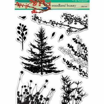 Penny Black Clearstamps Woodland Beauty