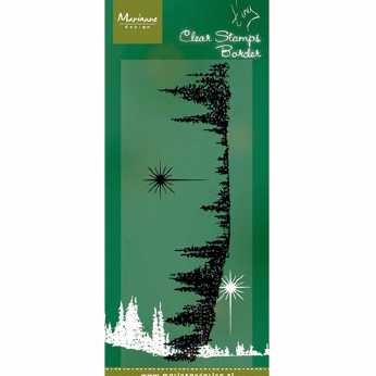Marianne Design Clearstamp Tiny's Pinetrees
