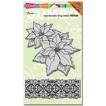 Stampendous Cling Delicate Snow Set