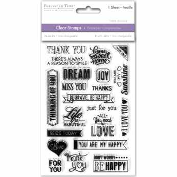 Pinkfresh Clearstamps Bibliophile