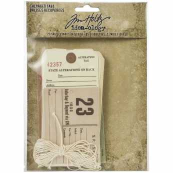 Tim Holtz Adornments Silverware