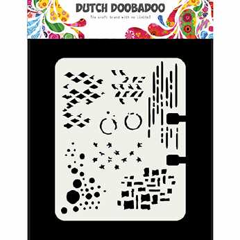 Dutch Doobadoo Mask Art A4 Silhouetten