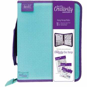 Docrafts Creativity Stamp Storage Folder