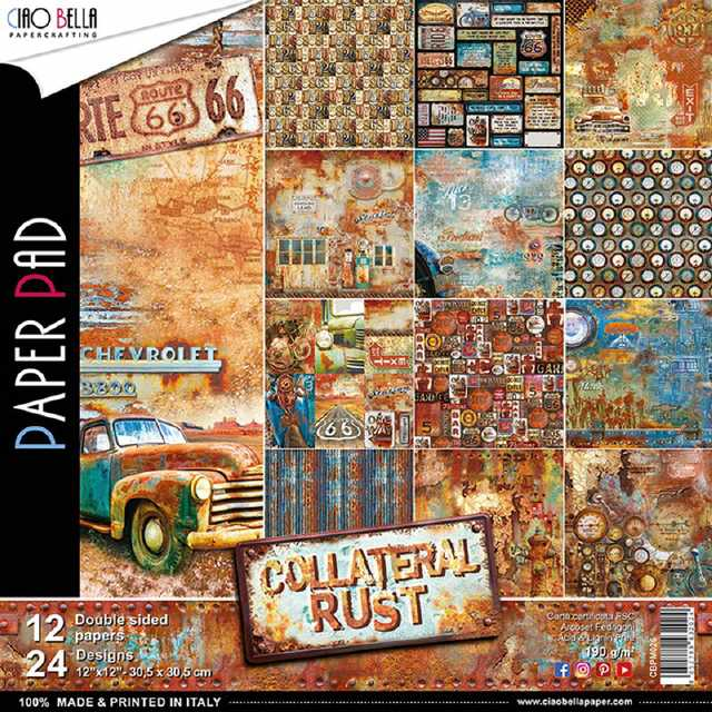 Ciao Bella Paper Pad Collateral Rust