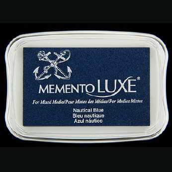 Memento Luxe Stempelkissen Nautical Blue