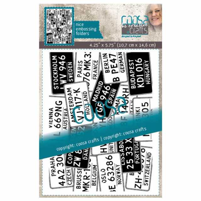 Coosa Crafts Embossingfolder License