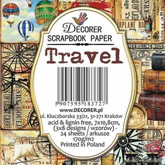 Decorer Mini Paper Pack Travel