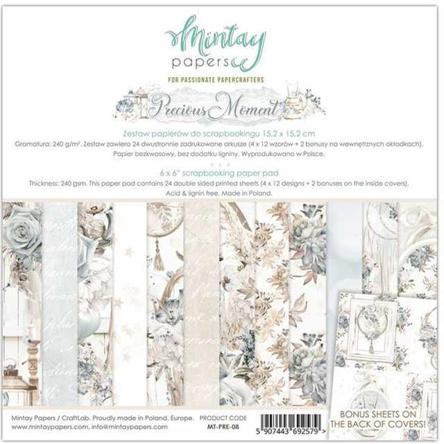 Mintay Papers - Paper Pad Precious Moment 6x6""