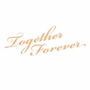 Couture Creations Textstempel Together Forever