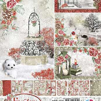Ciao Bella Creative Pad Frozen Roses
