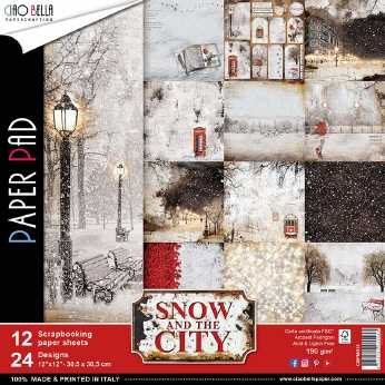 Ciao Bella Paper Pad Snow in the City