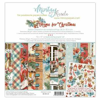 Mintay Paper Pad Home for Christmas