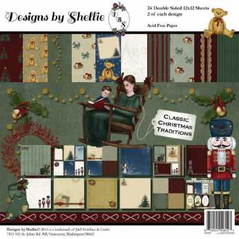 Prima Collection Kit Sweet Peppermint 8x8