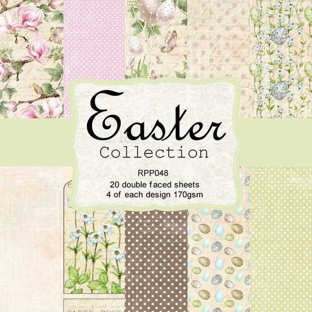 Reprint Paper Pack Easter Collection 6x6""