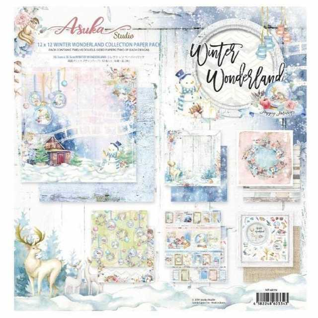 Asuka Studio Winter Wonderland Coll. Pack 12x12""